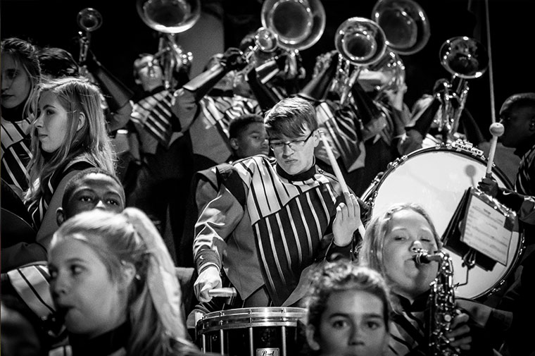 ACA Marching Eagle Band