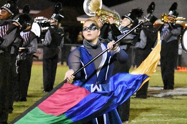 ACA Varsity Colorguard